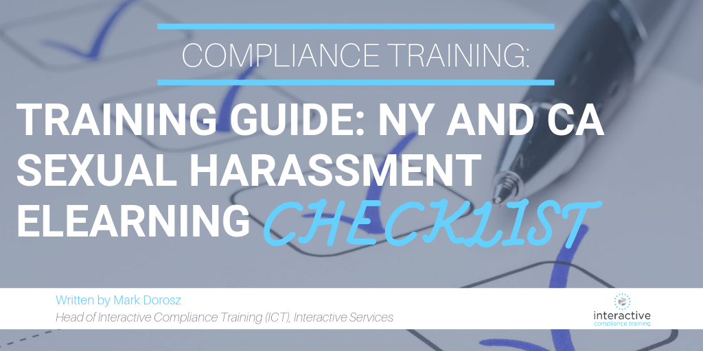 Sexual Harassment eLearning Checklist
