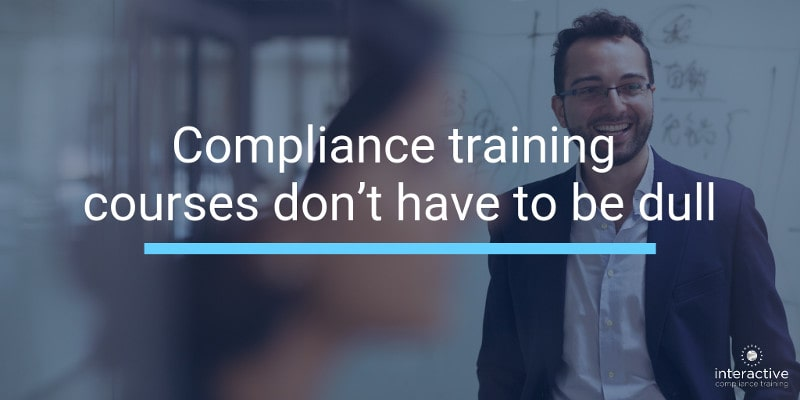 Compliance training can be more engaging with storytelling