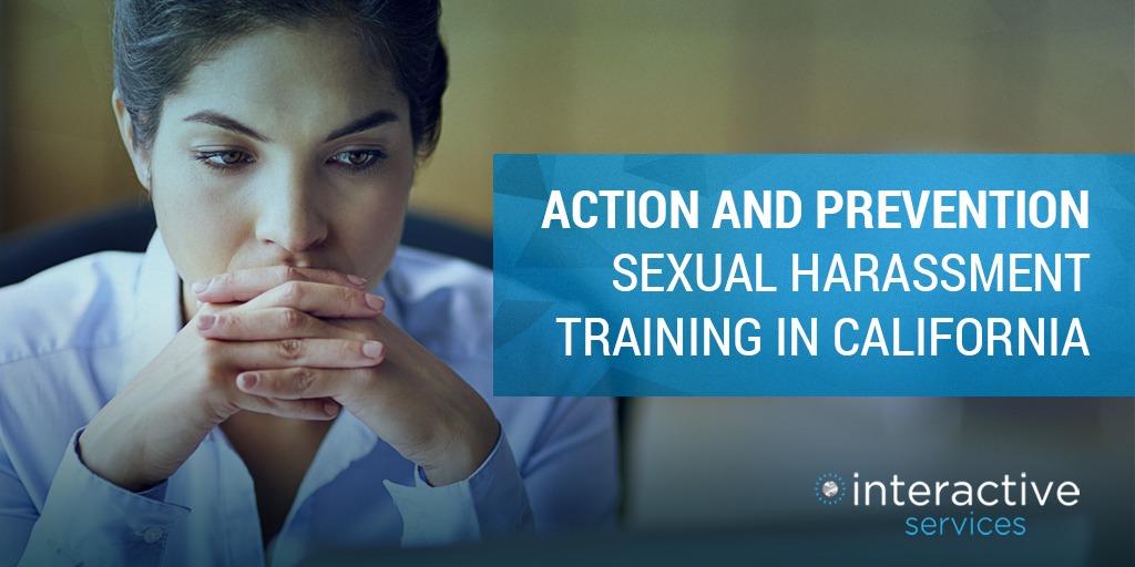 sexual harassment training california