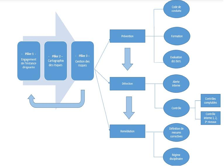 Framework diagram included in latest AFA guidelines