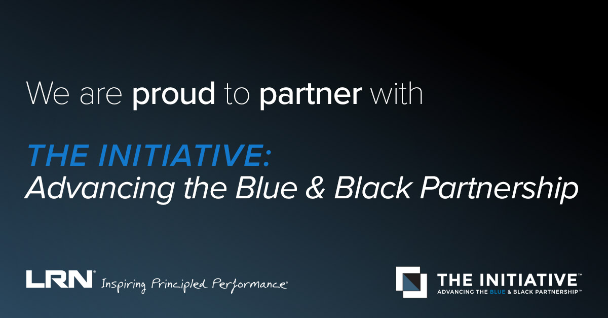 LRN Joins THE INITIATIVE: Advancing the Blue and Black Partnership